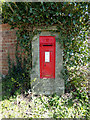 TM5099 : Hill House Victorian Postbox by Adrian Cable