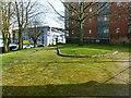 SK5739 : Bellar Gate rest garden by Alan Murray-Rust