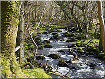 SH5922 : Afon Ysgethin by John Lucas