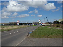 TM4599 : Entering St. Olaves on the A143 Beccles Road by Adrian Cable