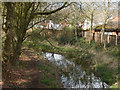 SP0382 : Former canal, Selly Oak Park by Stephen McKay