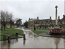SP0937 : Village centre, Broadway by David Robinson