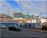 SK5838 : West Bridgford: adapting the former council offices by John Sutton