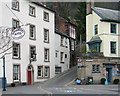 SK2958 : Matlock Bath: the bottom of Waterloo Road by John Sutton