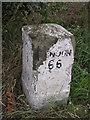 TR2965 : Old Milestone by Milestone Society