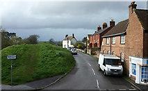 SY9287 : West Walls, Wareham by Derek Harper
