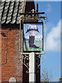 TM4797 : The Dukes Head Public House sign by Adrian Cable