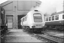 TQ2182 : Prototype HST 252 001 at Old Oak Common depot by Rob Purvis