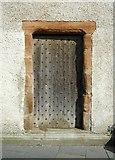 NO5402 : Door, Pittenweem Parish Church by Richard Sutcliffe