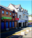 ST1599 : Former Jobcentre Plus, High Street, Bargoed by Jaggery
