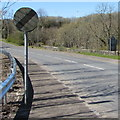 SO1009 : End of the 30 zone on the B4257, Llechryd by Jaggery
