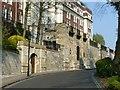 SK5639 : Memorial wall, Lenton Road, Nottingham by Alan Murray-Rust