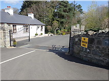 J0735 : The main gate lodge to Dromantine College by Eric Jones