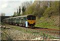 SX8966 : Train, Scott's Bridge by Derek Harper