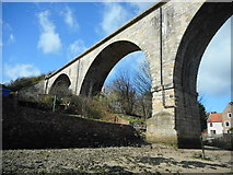 NO4102 : Old railway viaduct, Lower Largo by Richard Sutcliffe