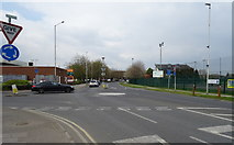 TQ1185 : Roundabout on Victoria Road, Ruislip by JThomas