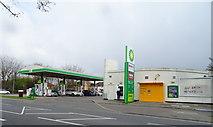 TQ1185 : Service station on Victoria Road, Ruislip by JThomas