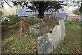 SU3786 : Headstones near the tomb by Bill Nicholls