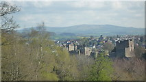 SO5074 : Brown Clee Hill (Viewed from Whitcliffe Common at Ludlow) by Fabian Musto