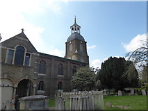 TQ1068 : St Mary, Sunbury-on-Thames: churchyard (f) by Basher Eyre