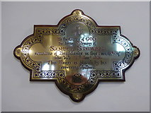 TQ1068 : St Mary, Sunbury-on-Thames: memorial (3) by Basher Eyre