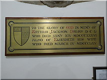 TQ1068 : St Mary, Sunbury-on-Thames: memorial (8) by Basher Eyre