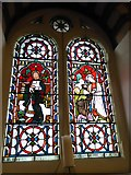 TQ1068 : St Mary, Sunbury-on-Thames: stained glass window (6) by Basher Eyre