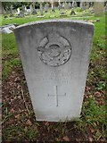 TQ1667 : St Nicholas, Thames Ditton: CWGC grave (ii) by Basher Eyre