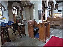 TQ1667 : Inside St Nicholas, Thames Ditton (F) by Basher Eyre