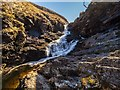 NH1281 : Waterfall on the Dundonnell River by valenta