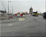 TR3140 : Looking ESE along the Prince of Wales Pier by John Baker