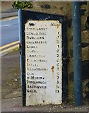 NO4203 : Milestone, Upper Largo by Bill Kasman
