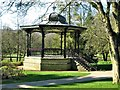 SK0573 : Don Redfern Memorial Bandstand, Pavilion Gardens, Buxton by G Laird