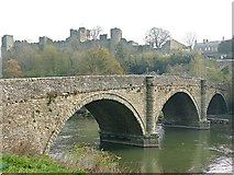 SO5074 : Dinham Bridge by Graham Hogg