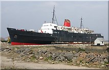 SJ1779 : TSS Duke of Lancaster (1955) by Mat Fascione