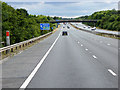 ST3134 : Southbound M5 near Bridgwater by David Dixon