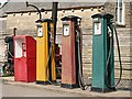 SO9491 : Fuel pumps at Broome's Garage in the Black Country Living Museum by Graham Hogg