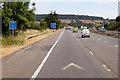 ST3756 : Northbound M5 near Loxton by David Dixon