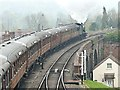 SO7975 : Steam train departing Bewdley Station by Graham Hogg