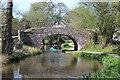 SO3104 : Canoe under Bridge 71, Mon & Brec Canal by M J Roscoe
