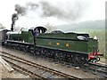 SO7482 : GWR 2857 Heavy Goods Locomotive at Highly Station by Graham Hogg