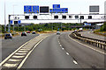 ST6283 : Southbound M5, The Almondsbury Interchange by David Dixon