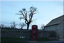 SP1106 : Phone box on the B4425, Arlington by David Howard