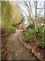 J0643 : Gardens between the Newry Canal Towpath and the Railway Line by Eric Jones
