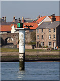 NU0052 : A navigational aid on the Tweed Estuary by Walter Baxter