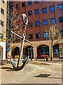 SJ8197 : Anchor sculpture at The Anchorage, Salford Quays by Brian Deegan
