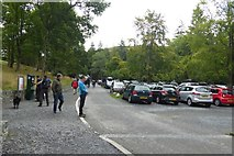 NY4020 : Car park at Aira Force by DS Pugh