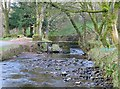 SD9339 : The clapper bridge over Wycoller Beck by Steve Daniels