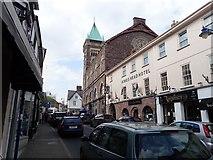 SO2914 : Cross Street, Abergavenny by Eirian Evans
