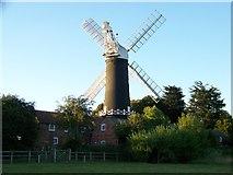 TA0233 : Skidby windmill by Elliott Simpson